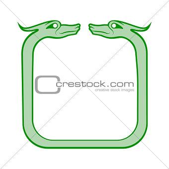 Celtic dog frame
