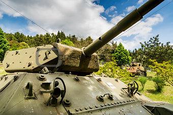 American Sherman tank