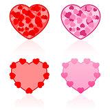 Valentines Icons Hearts
