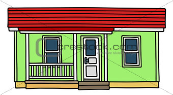 Green low small house