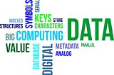 word cloud - data