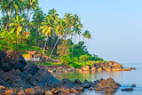 beautiful seascape. Beautiful tropical place for relaxation