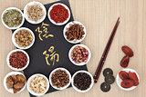 Yin and Yang Chinese Herb Selection