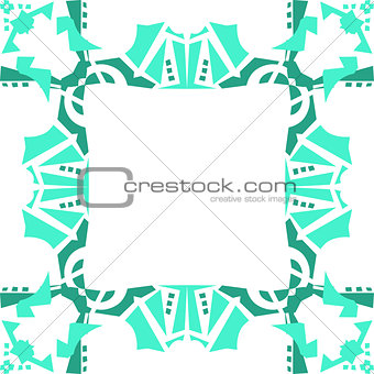 Frame Background in Green