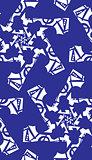 Seamless Blue Pinwheels