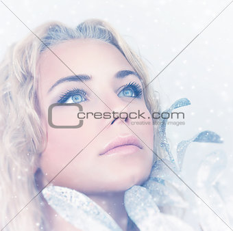 Portrait of gorgeous female