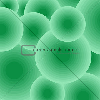 Background color geometric balls