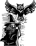 Wizard with Owl