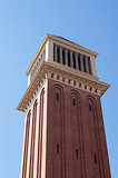 Venetian tower at Espanya square