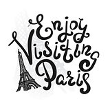 Enjoy visiting paris