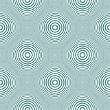 Seamless circles and rings pattern.