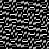 Seamless geometric striped pattern.