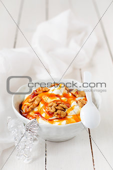 Greek Yoghurt in a Bowl