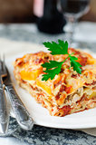 Chicken and Pumpkin Lasagna