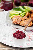 Cranberry Red Onion Sauce