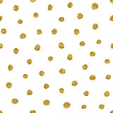 Gold glitter pattern