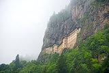 Sumela  monastery exterior view