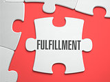 Fulfillment - Puzzle on the Place of Missing Pieces.