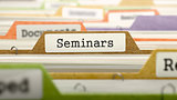 Seminars on Business Folder in Catalog.
