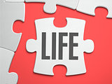Life - Puzzle on the Place of Missing Pieces.