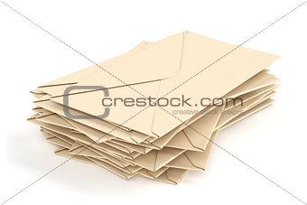 Group of envelopes