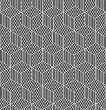 Seamless op art pattern. Geometric texture.