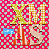 text merry christmas on a colorful background