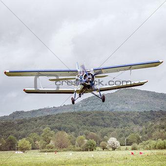 Old retro plane.