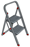 Metal small stepladder
