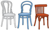 Classic color chairs