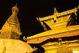 Swayambhunath Stupa at Kathmandu,Nepal