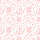 Hand drawn seamless pink scribble swirl texture