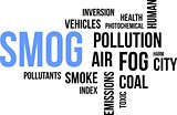 word cloud - smog