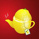 Tea makers shaped lemon