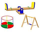 swing carrousel for children