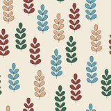 Vector Childish Seamless Pattern