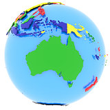 Australia on Earth