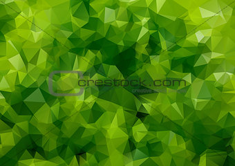 Green abstract  colorful background