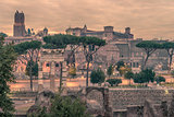 Rome, Italy: The Roman Forum ant Old Town