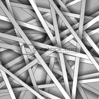 Abstract light monochrome vector stripes background