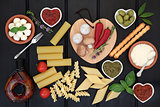 Healthy Italian Food Sampler