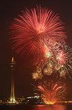 Macau Colorful Firework