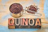 gluten free qunoa grain