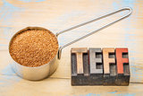 gluten free teff grain
