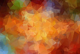 Abstract  angular colorful vector background
