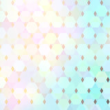 Abstract geometric light pattern