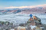 hiking foothills in northern Colorado