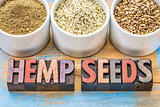 hemp seeds, hearts and protein powder