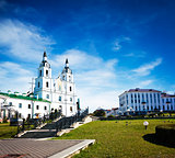 Holy Spirit Cathedral in Minsk, Belarus