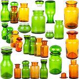 Collection of glass jars